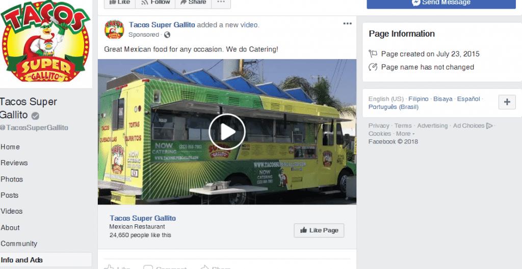 Breakdown FB Ads